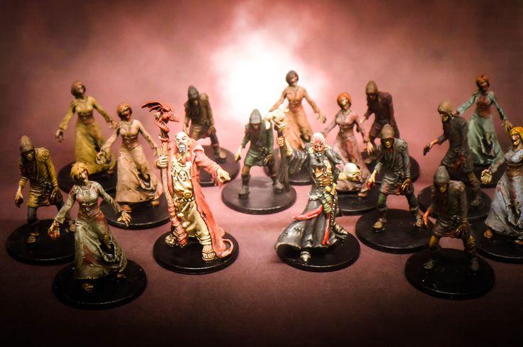 Zombicide: Black Plague Necromancers