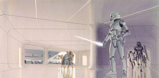 Star Wars Art by Ralph McQuarrie.