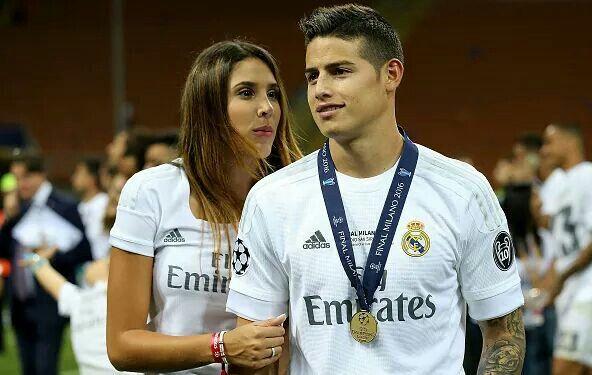 James y su esposa Daniela