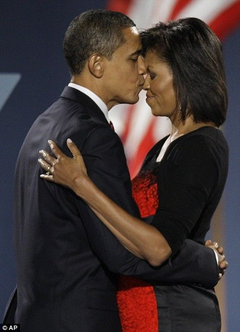 One of my favourite pictures of Pres. Obama and Mrs. Obama. I'm sure he has both arms around her and that his hands are linked together.