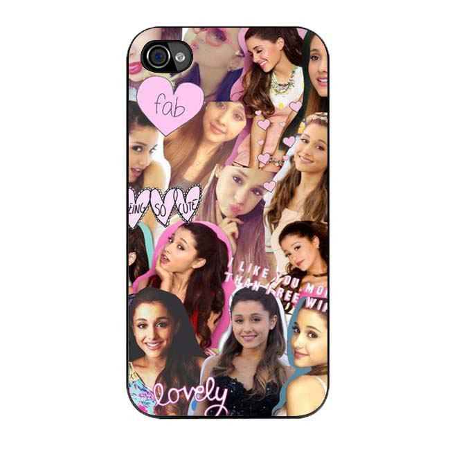 iPhone cases for iphone 5c : ariana grande photo collage case for iphone 4 4s : iPhone 4 4s case ...