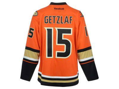 Anaheim Ducks Ryan Getzlaf Reebok NHL CN PT Premier Player Jersey
