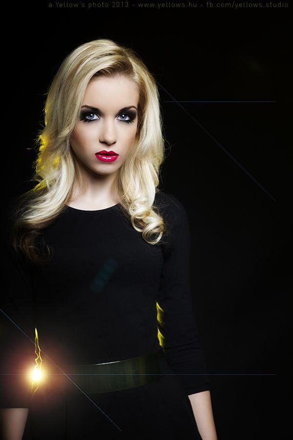 Vivi @ Yellow's Studio  photo by Álmos Eőry make-up by Anna Törjék #Yellows #Bp