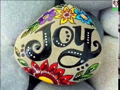 Easy Room Decor - 50 DIY Painting rocks ideas | Live Rock painting Tutorial!