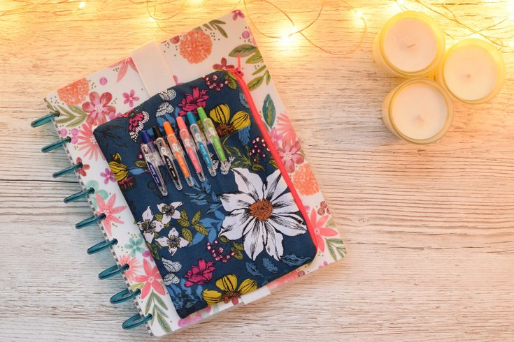 Lyra & Co Review - Planner Pouch | Happy Planner Cover