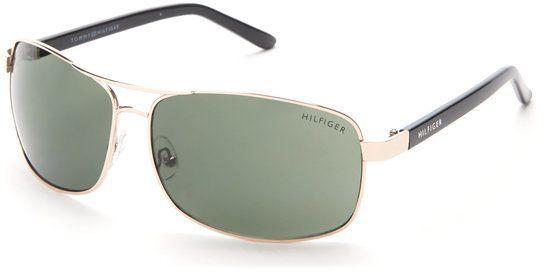 Tommy Hilfiger Gold-Tone Vasquez Sunglasses