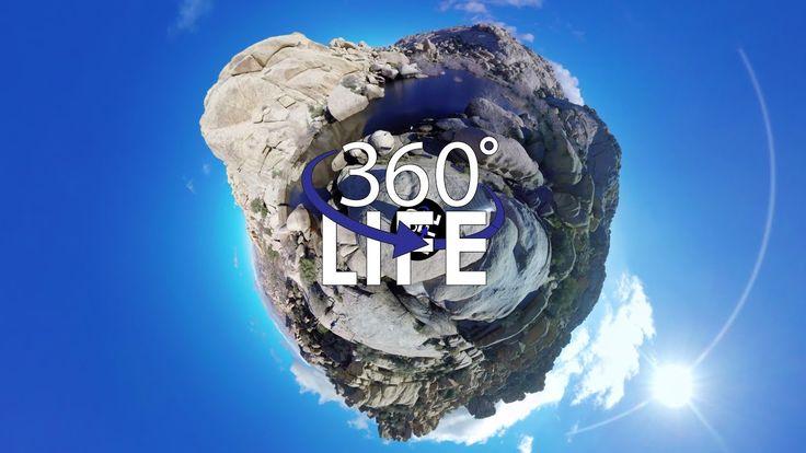360 Tiny Planet Video of Barker Dam