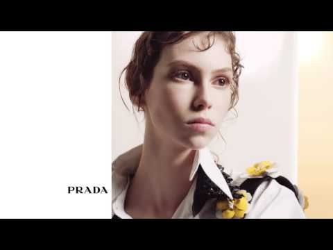 Prada's luminescent new bags echo the spell-binding brightness of summer. The interchangeable straps gracefully place memories in playful and original combin...