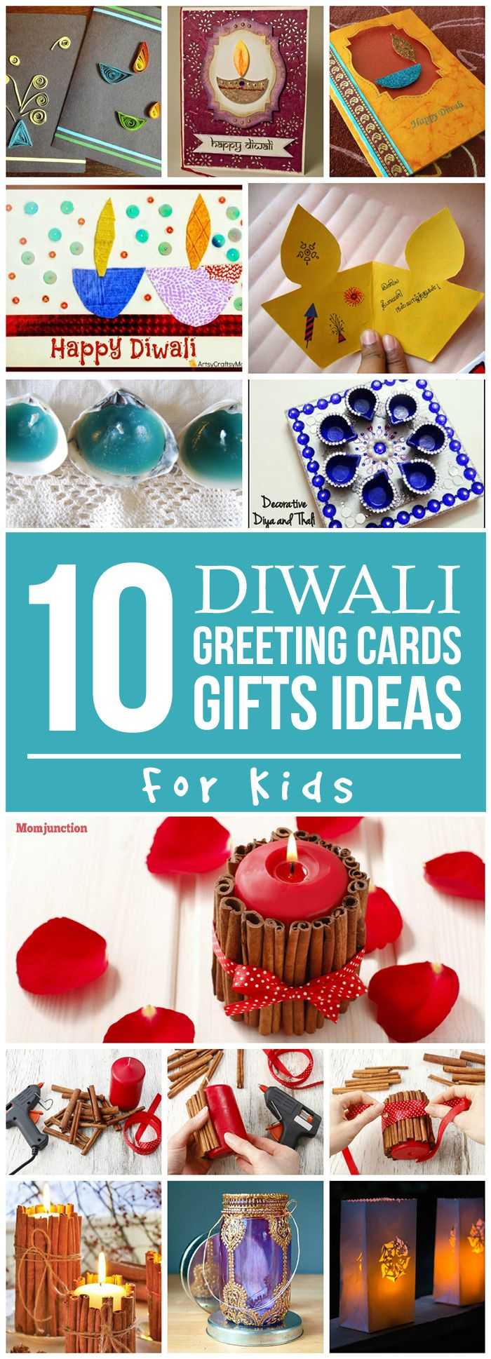 Are you looking for ideas on making diwali greeting cards for kids to send or handmade gifts to make? read this post and make this Diwali more memorable.