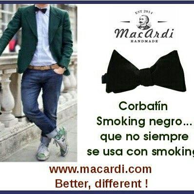 #corbatin negro para TODA ocasion ! www.macardi.com