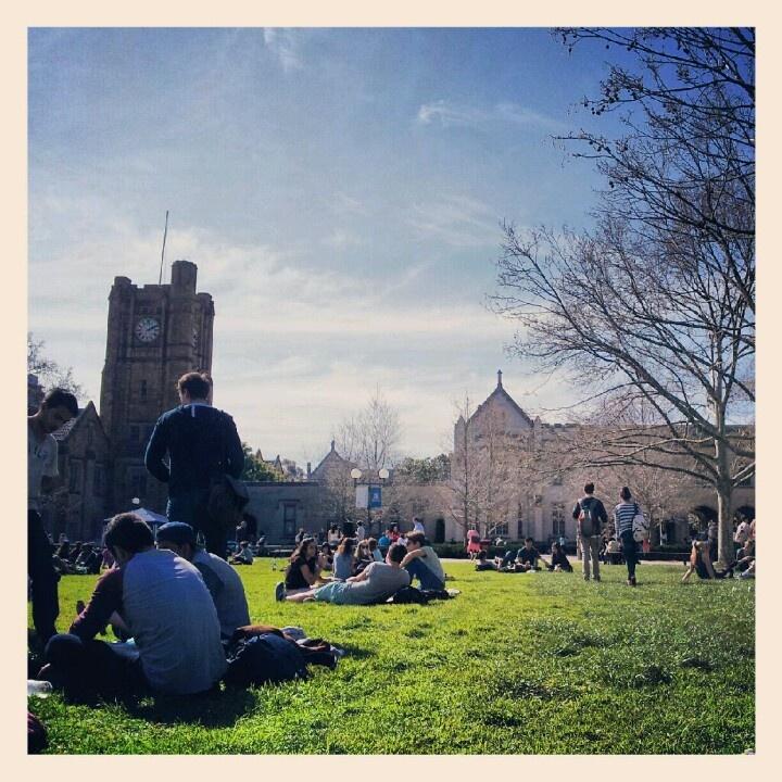South Lawn. University of Melbourne
