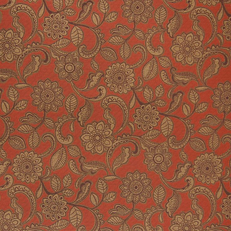 Rustic+Brown+and+Orange+Floral+Outdoor+Upholstery+FabricThe G2648 Rustic upholstery fabric by KOVI Fabrics features Floral pattern and Brown, Orange as its colors. It is a Outdoor, Made in USA, Texture, Jacquard type of upholstery fabric and it is made of 100% Solution Dyed Acrylic Lightfastness - 1,500 Hours material. It is rated Exceeds 30,000 double rubs (heavy duty) which makes this upholstery fabric ideal for residential, commercial and hospitality upholstery projects. This upholstery…