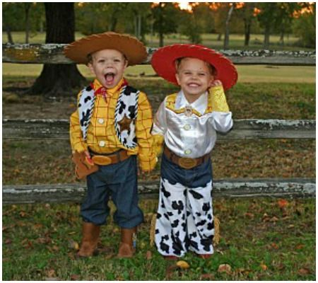 amazing halloween costume ideas for toddler siblingsjessie and woody - Toddler Jessie Halloween Costume