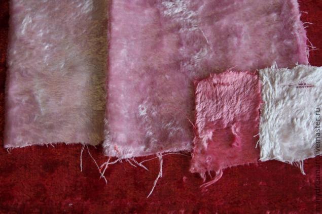 Отбеливание плюша и окраска (пробы номер раз) - Ярмарка Мастеров - ручная работа, handmade