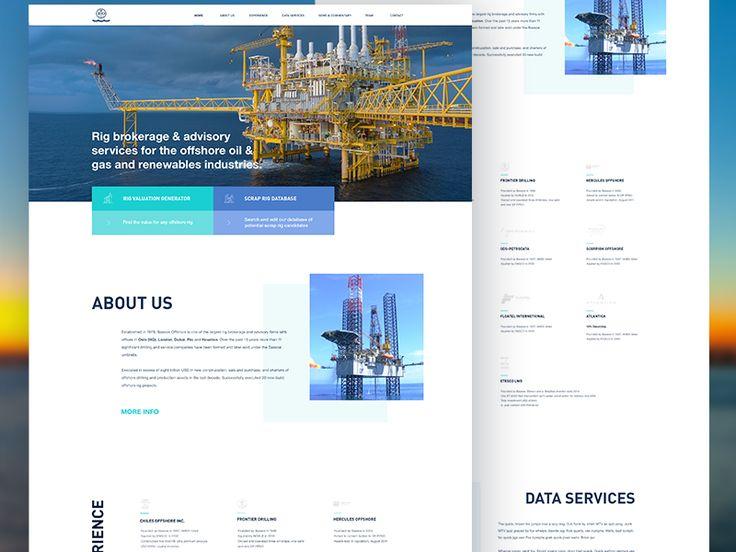 Offshore company website by Lukáš Oslzla