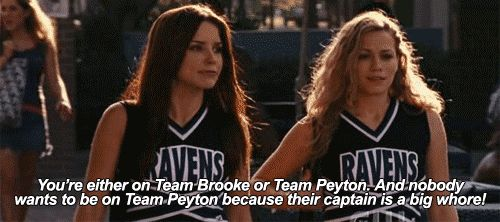I love this article but I also hate it. B. Davis taught me a lot but I AM on team Brooke & Team Peyton. I love them both ❤️