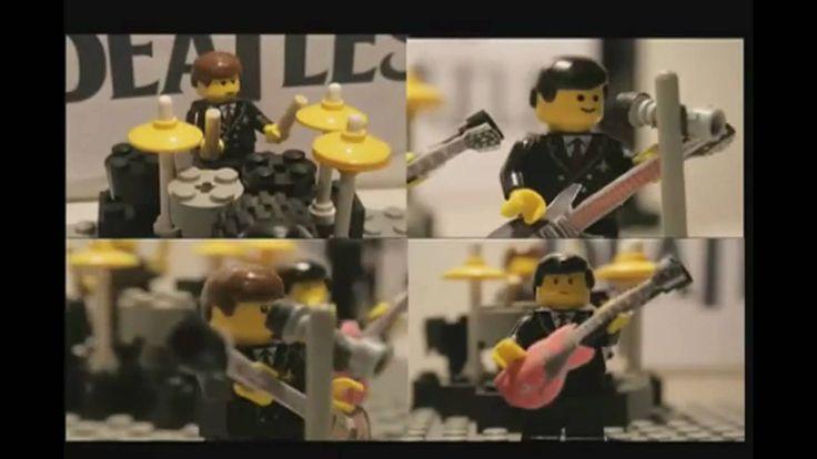 The Beatles Happy Birthday Lego Song