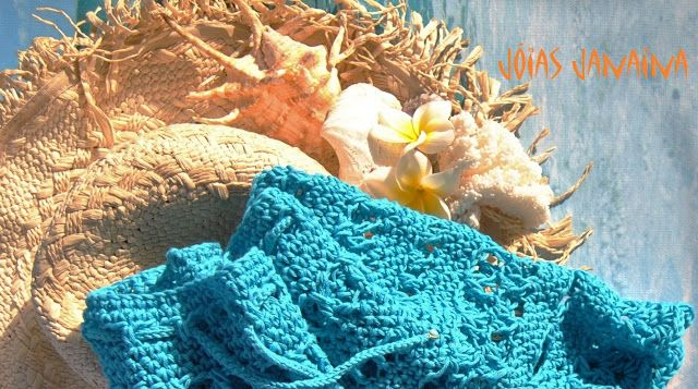 Falda de crochet de Jóias Janaina  www.joiasjanaina.blogspot.com www.facebook.com/joiasjanaina
