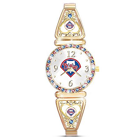 My Philadelphia Phillies Ultimate Fan Women's Watch