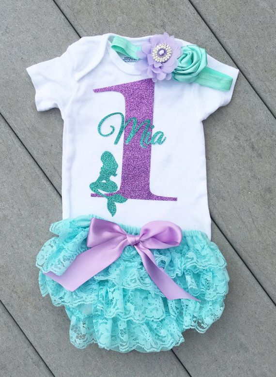 Mermaid Birthday Outfit Mermaid Party by ClassySassyElegance