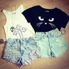 Resultado de imagen para conjuntos de ropa para adolescentes tumblr                                                                                                                                                      Más
