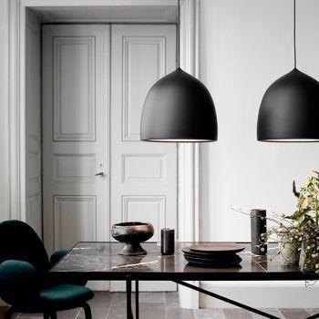 Lightyears' Suspence pendants in black