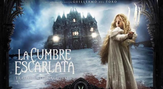 'La Cumbre Escarlata' Cuento de Terror Gótico. Estreno de la esperada película del aclamado director Guillermo del Toro #LaCumbreEscarlata #CrisomPike #Cine #estreno #GuillermodelToro