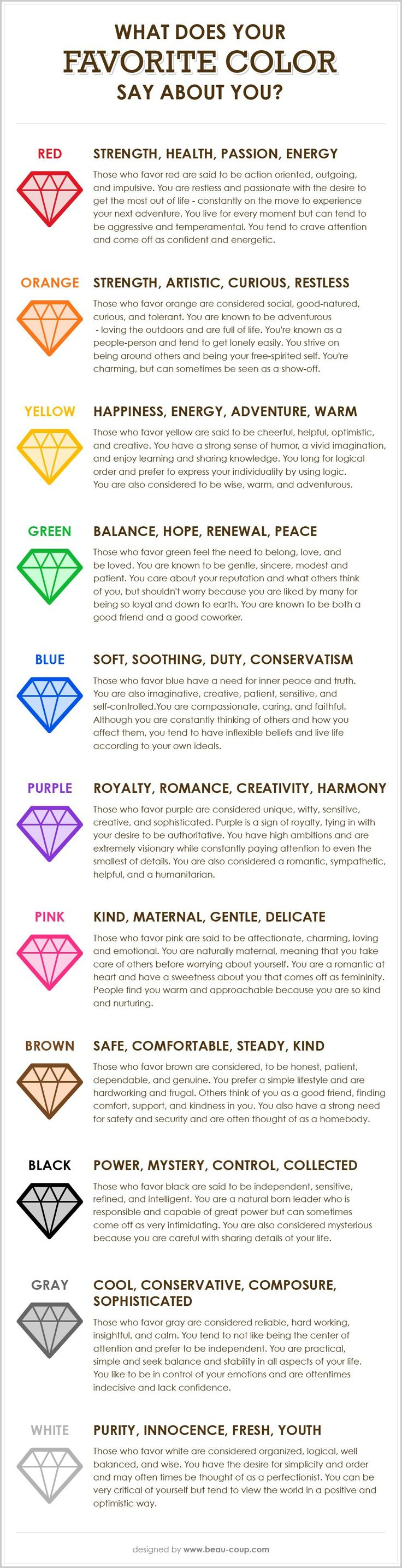 17 best ideas about color personality test favorite have you ever thought about what your favorite color says about your personality << my favourite colour