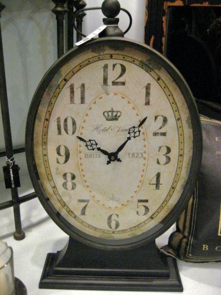 Vintage Paris hotel clock