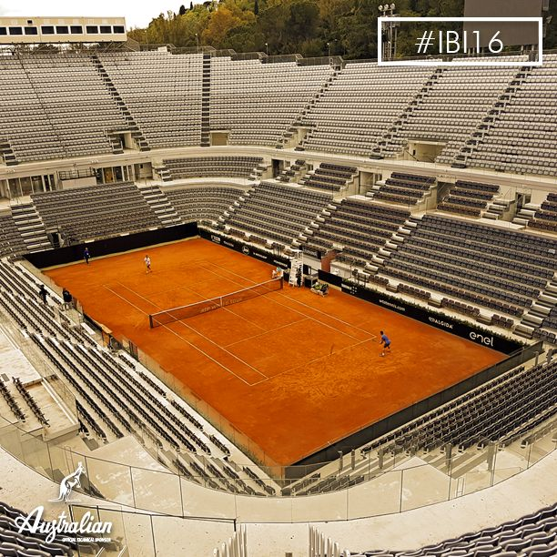 The great ‪#‎tennis‬ at Internazionali BNL d'Italia. The breathtaking scenery of the Centre Court, #Rome .  #IBI16