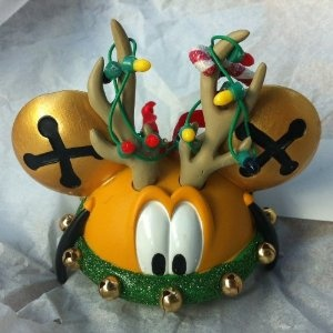 Disney Pluto the Dog Mickey Mouse Ears Hat Limited Edition Ornament