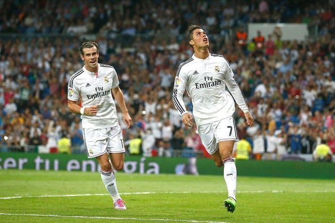 """""""Manita"""" do Real Madrid com Póquer de Cristiano Ronaldo  http://angorussia.com/desporto/manita-real-madrid-com-poquer-cristiano-ronaldo/"""