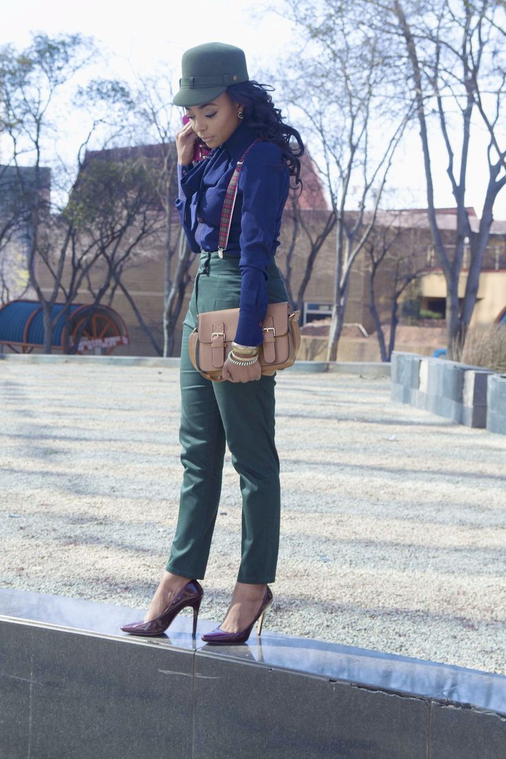 green and navy, our favourite winter colours  image by ufldaily clothes by fabrosanz