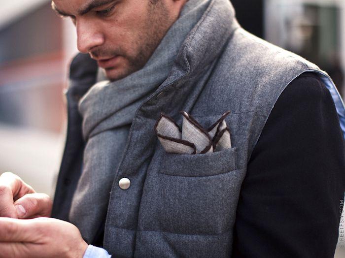 veste fine matelassée homme