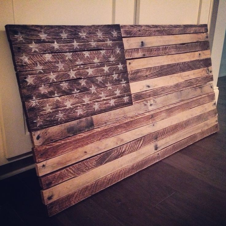 Old Glory  Rustic / Distressed American Flag by HamonCreative, $150.00