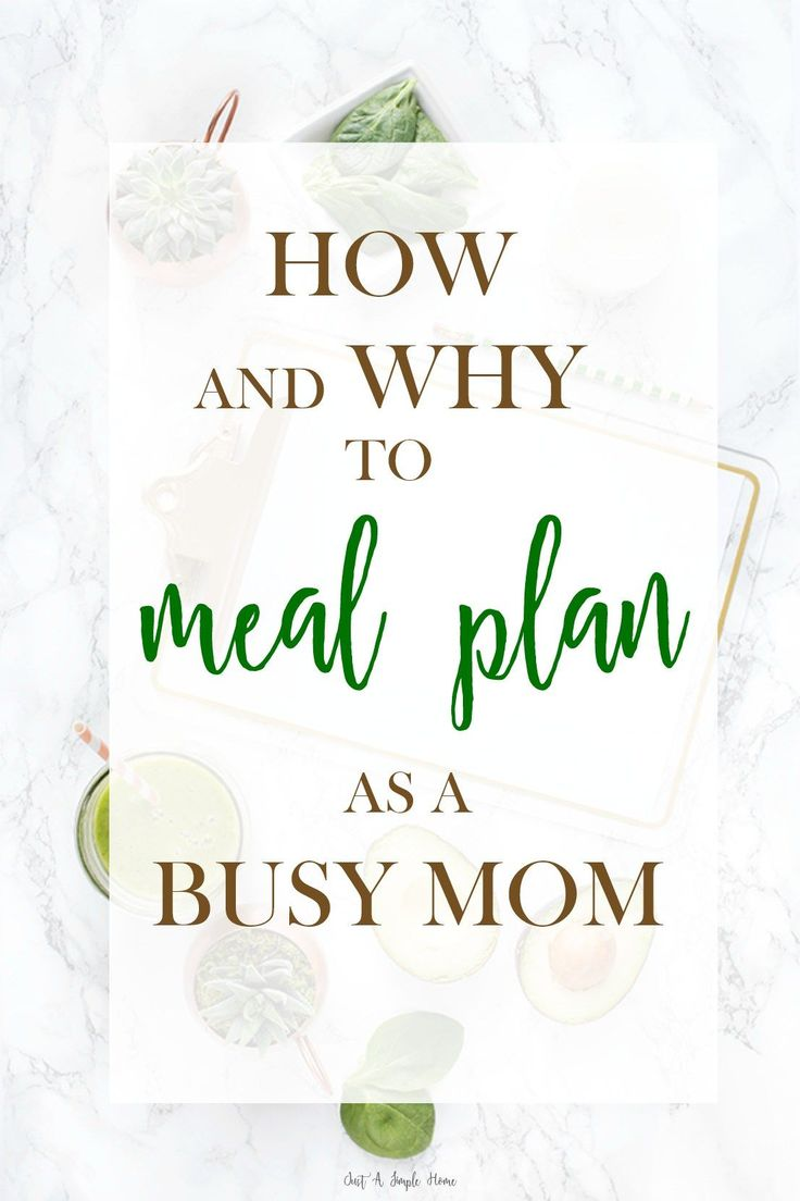 Meal Planning as a Busy Mom (Free Printable!). It's something we dread and gloss over, right? But I promise you meal planning for your family will save you time and money and aggravation. Step by step directions for you, along with a FREE Weekly Meal Plan Printable! Great for busy moms, working moms, stay at home mom, homeschool moms.
