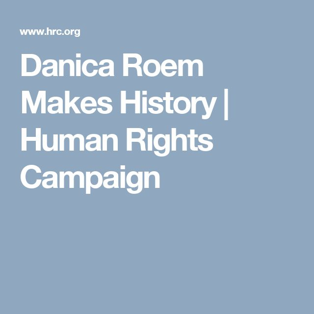 Danica Roem Makes History   Human Rights Campaign
