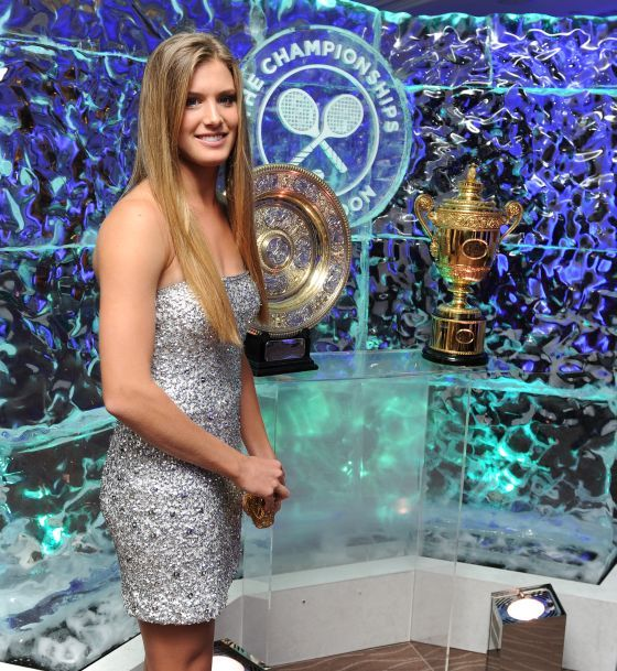 Bouchard at Wimbledon Eugenie Bouchard, The New Sexiest Tennis Player