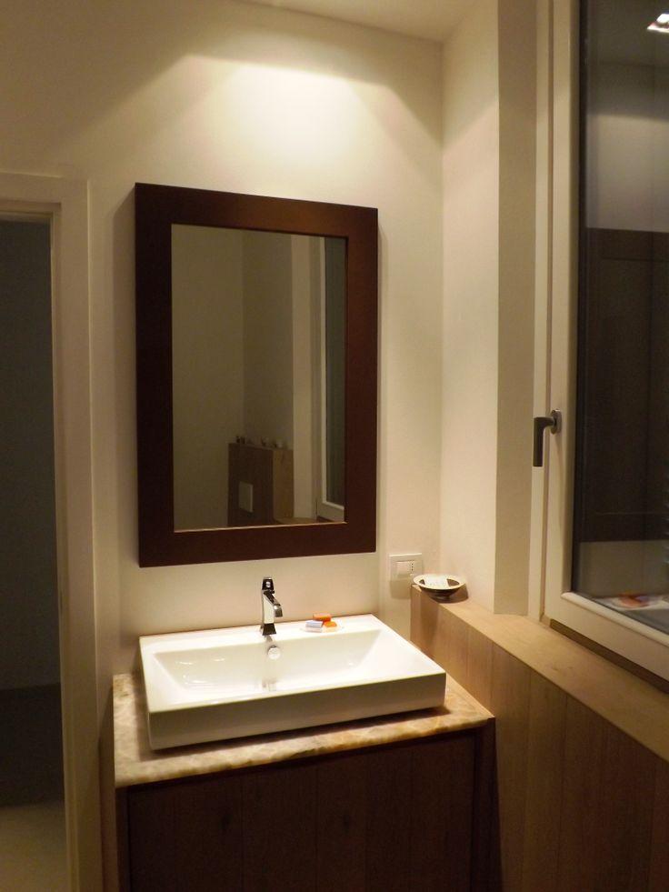 Cornice specchio in ferro acidato  #itesoricoloniali #iron #ferro #specchiere #specchi #cornici #customized #arredamenti #sumisura #design