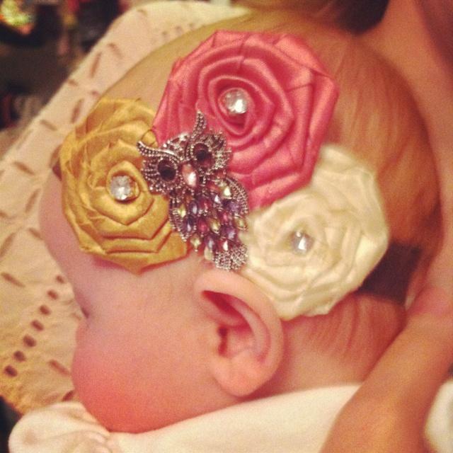 Homemade headband!