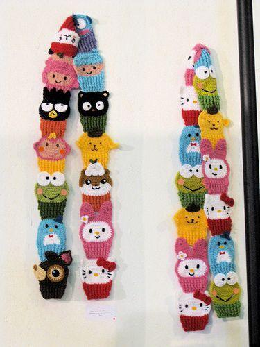 Ideias Tricô e Crochê: Ideias cachecol infantil