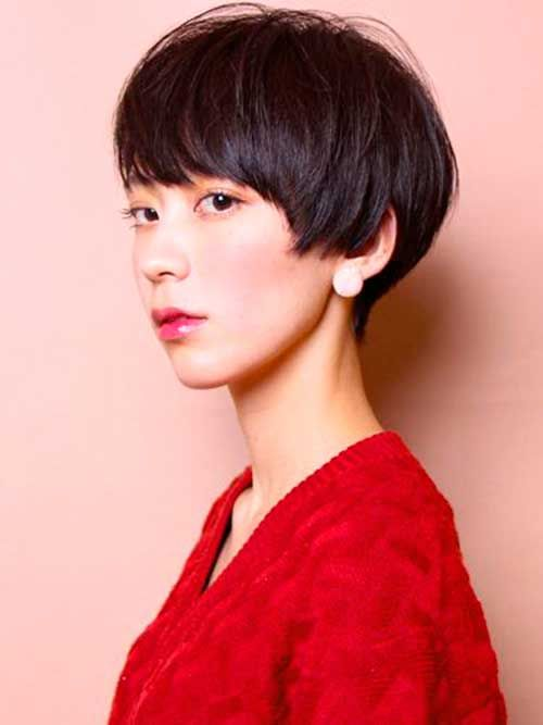 14.Cute Asian Pixie Cut                                                                                                                                                                                 More