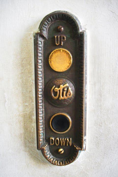 Otis Elevator Buttons Antiques Pinterest Elevator