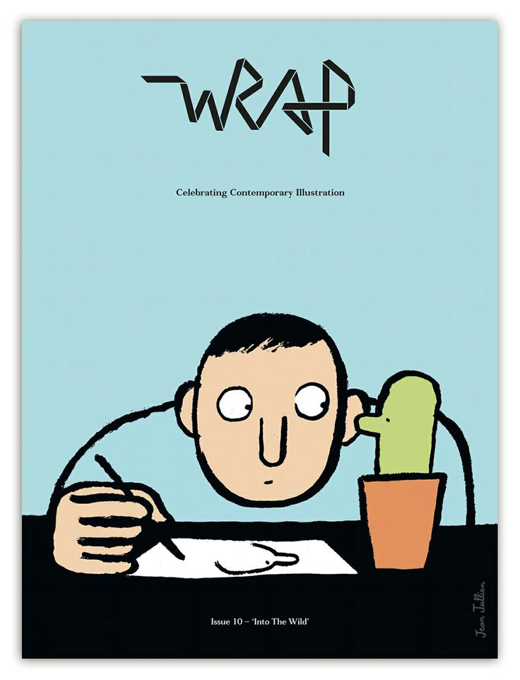 The super-duper issue 10 cover beautifully illustrated by Jean Jullien