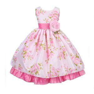 Use the girls' cute summer/ Easter dresses for their tea party birthday!