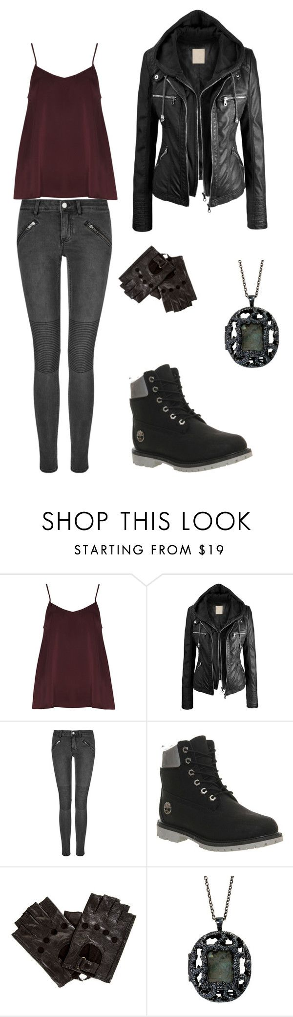 """""""Dauntless"""" by toughchicklett ❤ liked on Polyvore featuring Alice & You, BLK DNM, Timberland and Antonym"""