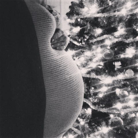 Maternity Christmas picture