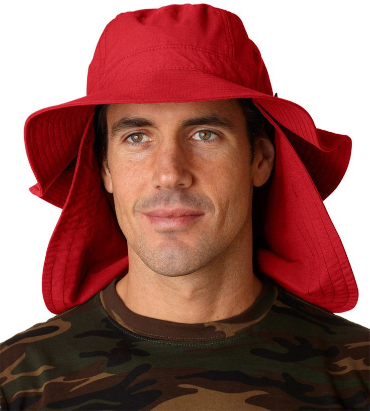 extreme vacationer bucket cap - nautical red (l)