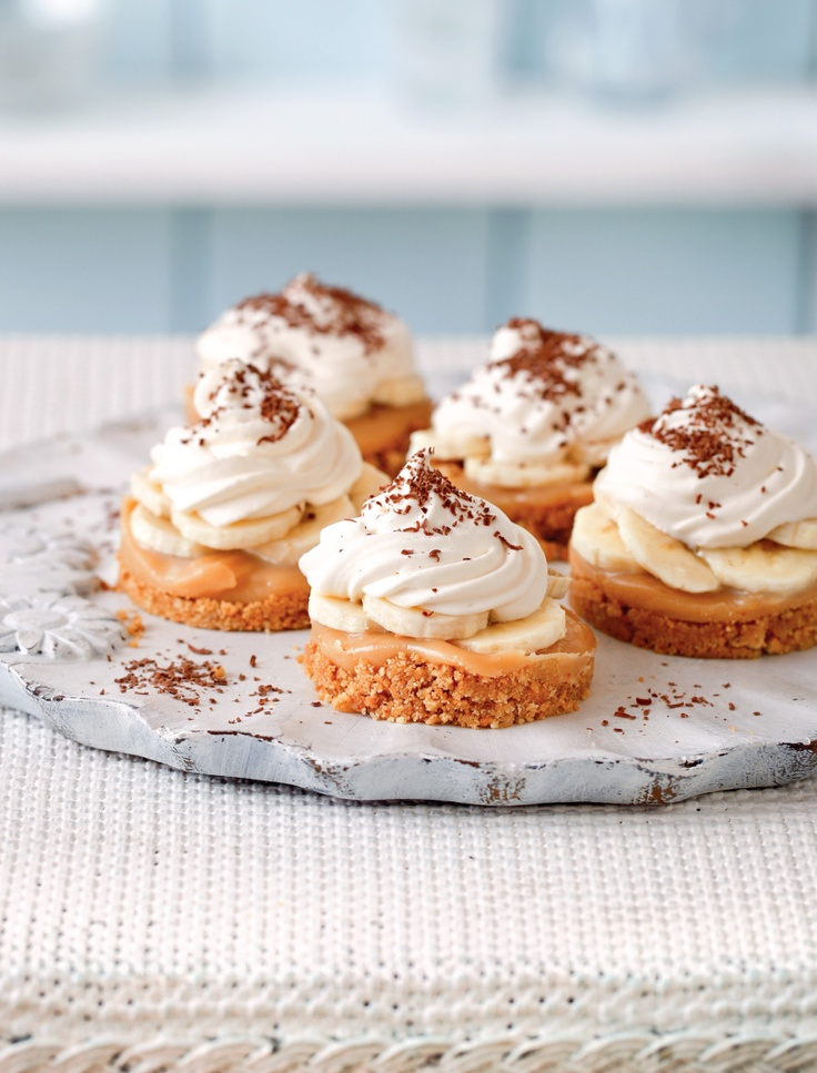 Mini Banoffee Pie