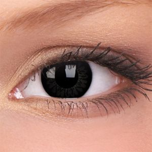 Dolly Black Big Eyes Contact Lenses